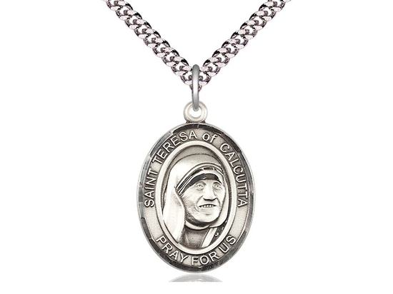 Saint Teresa of Calcutta<br>Oval Patron Saint Series<br>Available in 3 Sizes