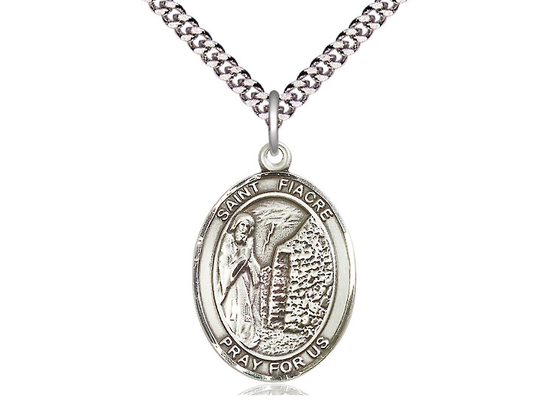 St Fiacre<br>Oval Patron Saint Series<br>Available in 3 Sizes