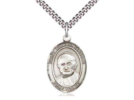 St Arnold Janssen<br>Oval Patron Saint Series<br>Available in 3 Sizes