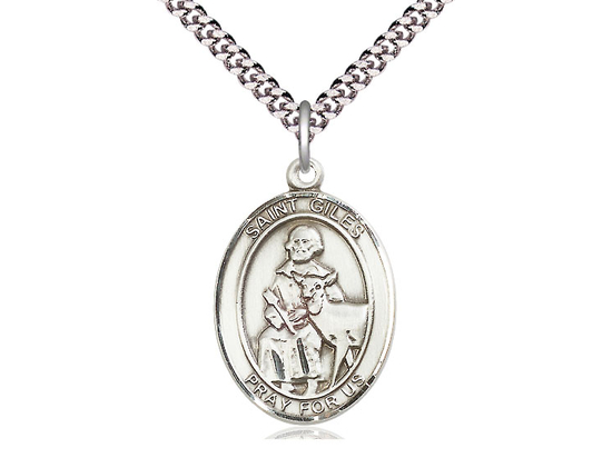 St Giles<br>Oval Patron Saint Series<br>Available in 3 Sizes