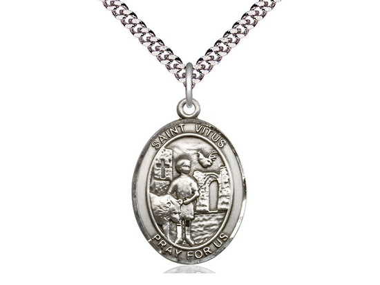 St Vitus<br>Oval Patron Saint Series<br>Available in 3 Sizes