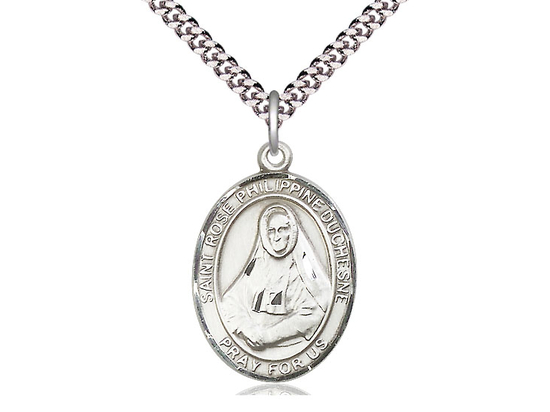 St Rose Philippine<br>Oval Patron Saint Series<br>Available in 3 Sizes