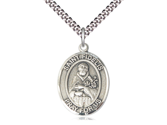 St Fidelis<br>Oval Patron Saint Series<br>Available in 2 Sizes