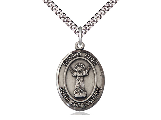 Divino Nino<br>Oval Patron Saint Series<br>Available in 2 sizes