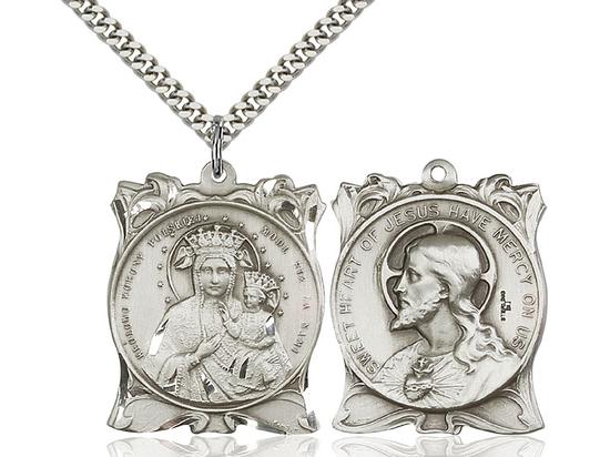 Our Lady of Czestochowa<br>Sacred Heart of Jesus<br>79-155/117 - 1 x 1 1/4