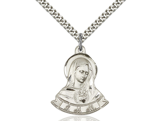 Immaculate Heart of Mary<br>80-109 - 7/8 x 1 1/8