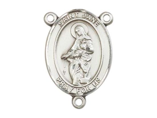 Saint Jane of Valois<br>8029CTR - 3/4 x 1/2<br>Rosary Center