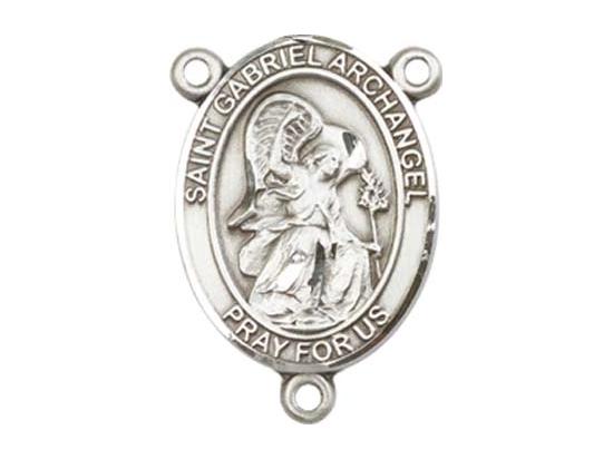 Saint Gabriel the Archangel<br>8039CTR - 3/4 x 1/2<br>Rosary Center