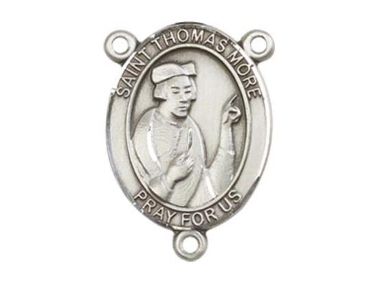 Saint Thomas More<br>8109CTR - 3/4 x 1/2<br>Rosary Center