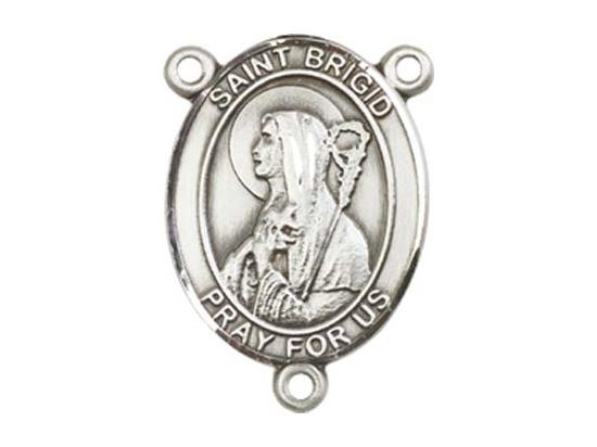 Saint Brigid of Ireland<br>8123CTR - 3/4 x 1/2<br>Rosary Center