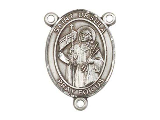 Saint Ursula<br>8127CTR - 3/4 x 1/2<br>Rosary Center