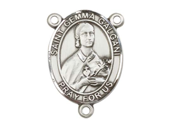 Saint Gemma Galgani<br>8130CTR - 3/4 x 1/2<br>Rosary Center