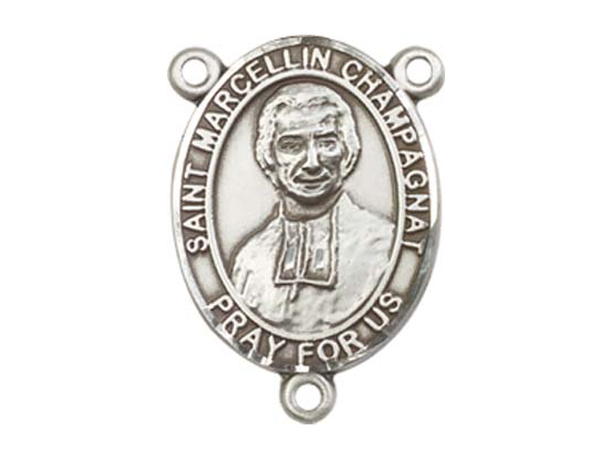 Saint Marcellin Champagnat<br>8131CTR - 3/4 x 1/2<br>Rosary Center