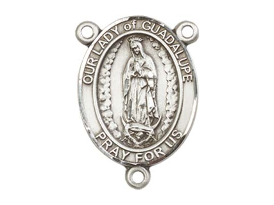 Our Lady of Guadalupe<br>8206CTR - 3/4 x 1/2<br>Rosary Center