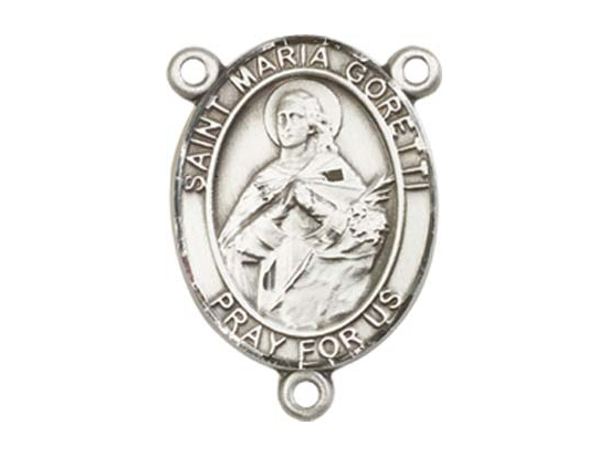 Saint Maria Goretti<br>8208CTR - 3/4 x 1/2<br>Rosary Center