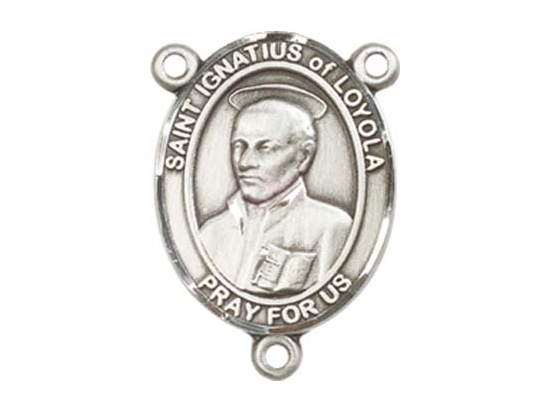 Saint Ignatius of Loyola<br>8217CTR - 3/4 x 1/2<br>Rosary Center