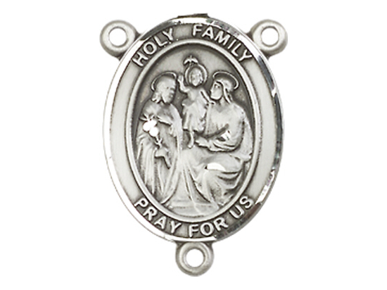 Holy Family<br>8218CTR - 3/4 x 1/2<br>Rosary Center