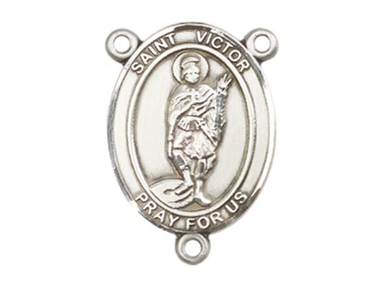 Saint Victor of Marseilles<br>8223CTR - 3/4 x 1/2<br>Rosary Center