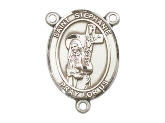 Saint Stephanie<br>8228CTR - 3/4 x 1/2<br>Rosary Center
