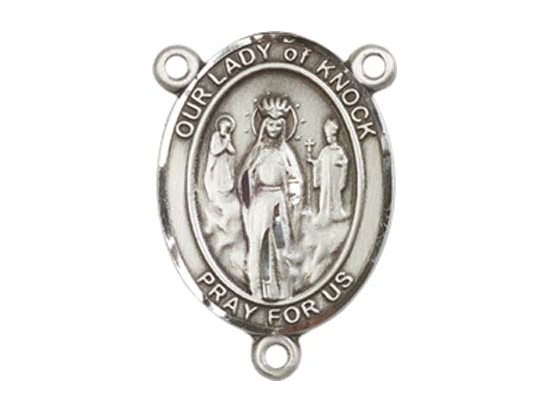 Our Lady of Knock<br>8246CTR - 3/4 x 1/2<br>Rosary Center