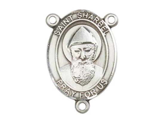 Saint Sharbel<br>8271CTR - 3/4 x 1/2<br>Rosary Center