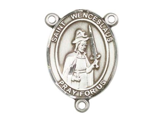 Saint Wenceslaus<br>8273CTR - 3/4 x 1/2<br>Rosary Center