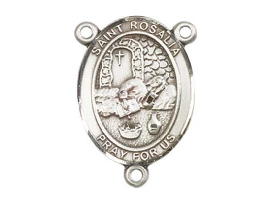 Saint Rosalia<br>8309CTR - 3/4 x 1/2<br>Rosary Center