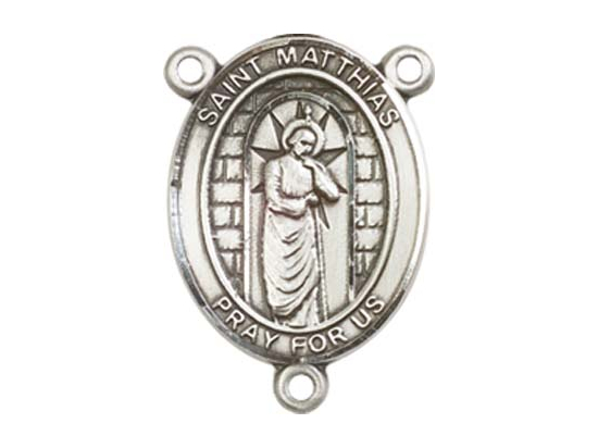 Saint Matthias the Apostle<br>8331CTR - 3/4 x 1/2<br>Rosary Center