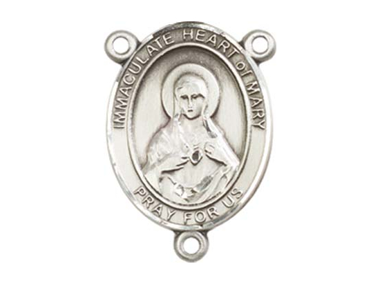 Immaculate Heart of Mary<br>8337CTR - 3/4 x 1/2<br>Rosary Center