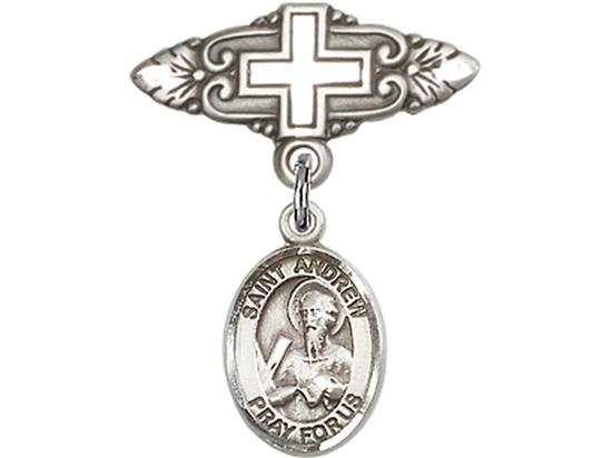 Saint Andrew the Apostle<br>9000/0731 - 1/2 x 1/4<br>Baby Badge