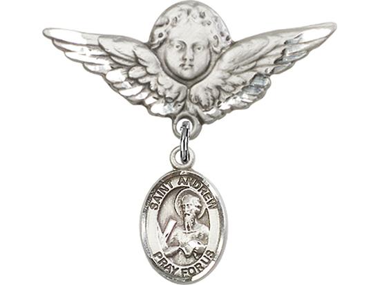 Saint Andrew the Apostle<br>9000/0733 - 1/2 x 1/4<br>Baby Badge