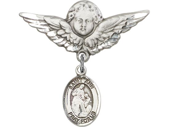 St Ann<br>Baby Badge - 9002/0733