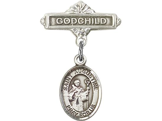 St Augustine<br>Baby Badge - 9007/0736