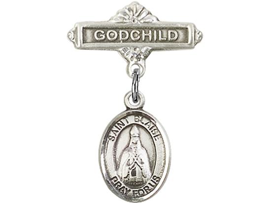 St Blaise<br>Baby Badge - 9010/0736