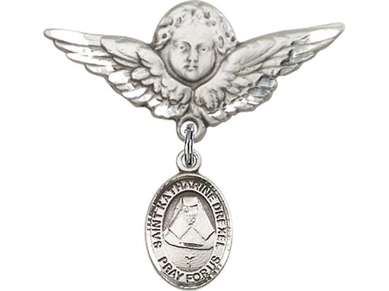 St Katherine Drexel<br>Baby Badge - 9015/0733