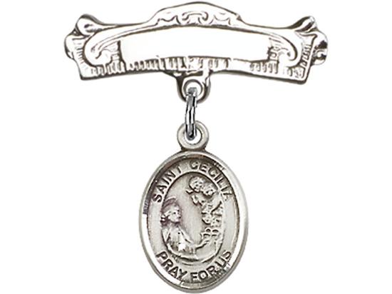 St Cecilia<br>Baby Badge - 9016/0732