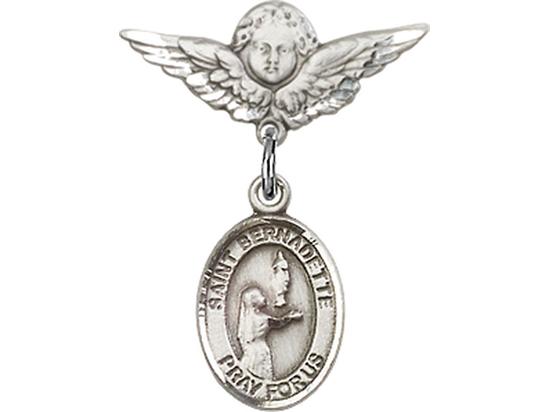 St Bernadette<br>Baby Badge - 9017/0735