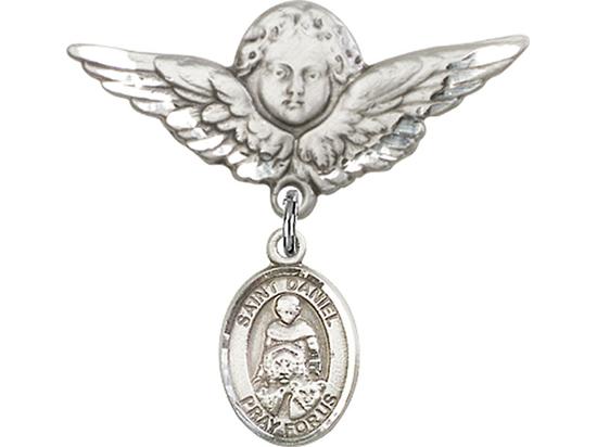 St Daniel<br>Baby Badge - 9024/0733