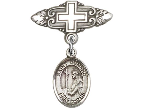 St Dominic de Guzman<br>Baby Badge - 9030/0731