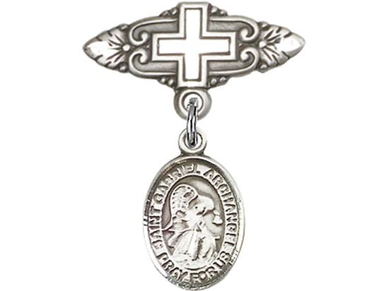 St Gabriel the Archangel<br>Baby Badge - 9039/0731