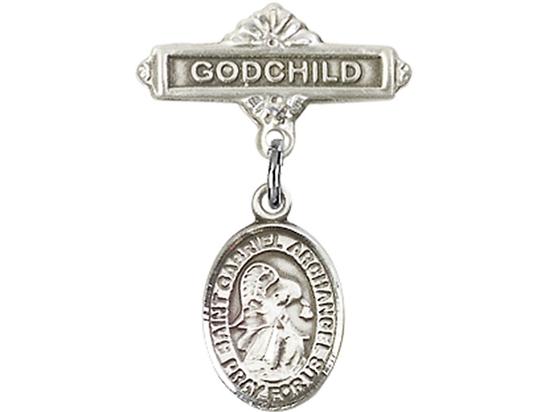 St Gabriel the Archangel<br>Baby Badge - 9039/0736