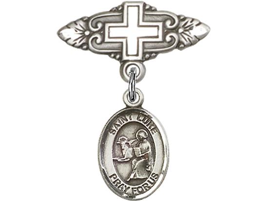 St Luke the Apostle<br>Baby Badge - 9068/0731