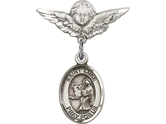 St Luke the Apostle<br>Baby Badge - 9068/0735