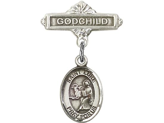 St Luke the Apostle<br>Baby Badge - 9068/0736