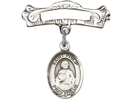 St Philip the Apostle<br>Baby Badge - 9083/0732