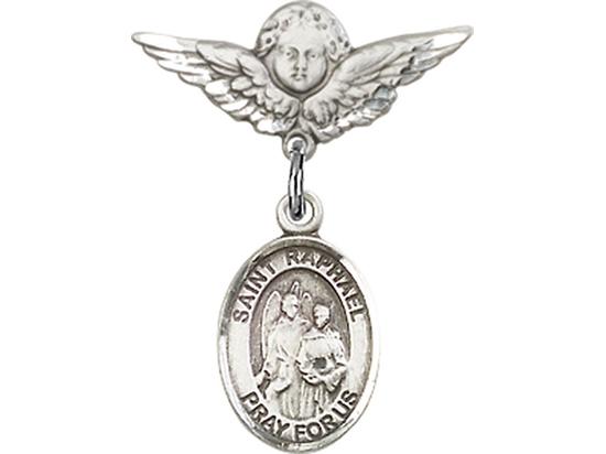 St Raphael the Archangel<br>Baby Badge - 9092/0735