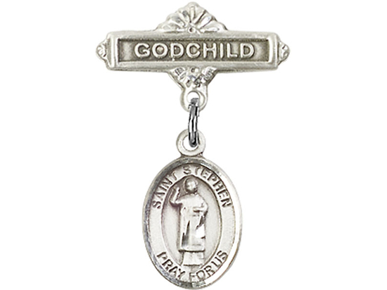 St Stephen the Martyr<br>Baby Badge - 9104/0736