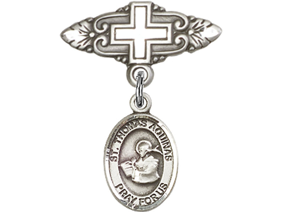 St Thomas Aquinas<br>Baby Badge - 9108/0731