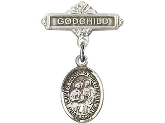Sts Cosmas & Damian<br>Baby Badge - 9132/0736