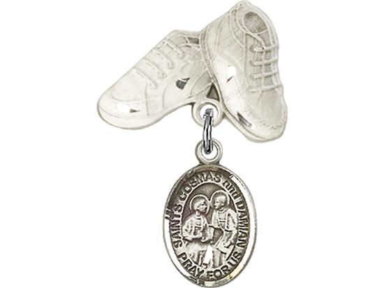 Sts Cosmas & Damian<br>Baby Badge - 9132/5923